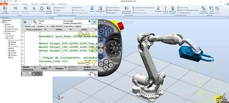Curso ABB Diseño celdas robotizadas