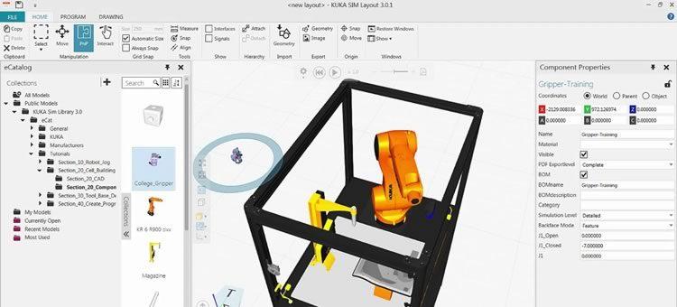 Curso KUKA Diseño de celdas robotizadas