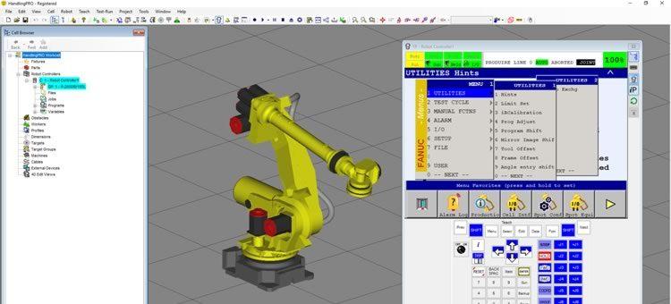 Simuladores RoboGuide fanuc