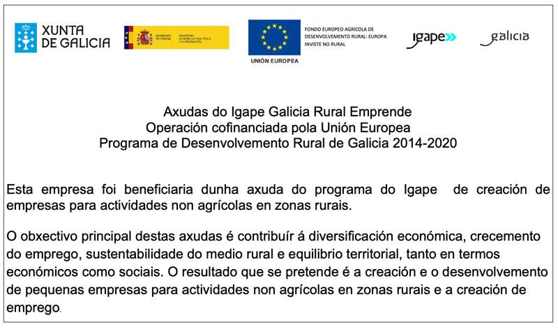 Axudas Igape Galicia Rural Emprende IG233